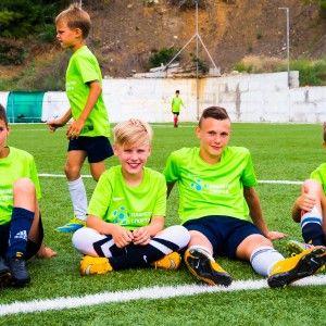 Футбольный матч в лагере по футболу Алушта 2015 фото 23