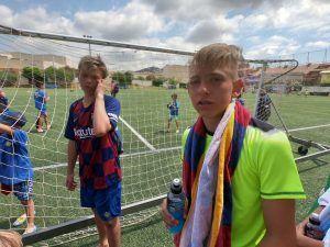 Футбольный лагерь в испании 7