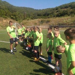 Детский футбольный лагерь в Крыму
