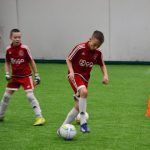 Лагерь Аякс 2015 играы на поле 15
