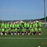 Фото 1 лагерь футбольный в Абрау 2015