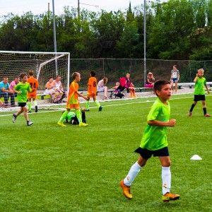 Фото гола ворота соперников Алушта лагерь по футболу 2015