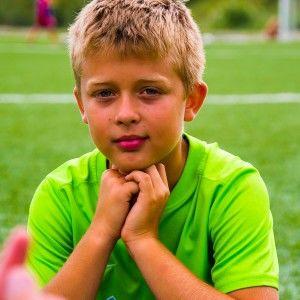 Фото ребят после игры в футбольном лагере Алушта 2015