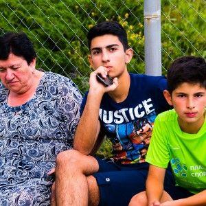Алушта 2015 лагерь футбольный матч с соперником