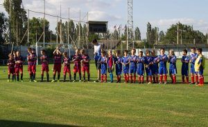 Матч с командой Симферопольской Таврии