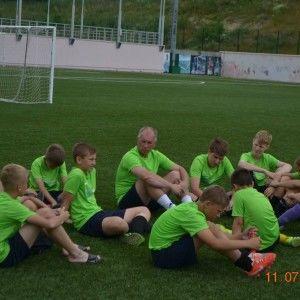 фото после матча в лагере Планета спорта