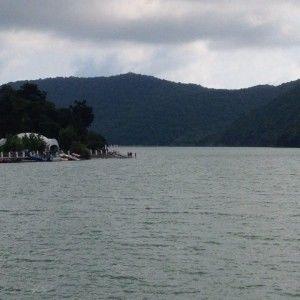 Фото Абрау-Дюрсо 2015 озеро рядом с лагерем по футболу