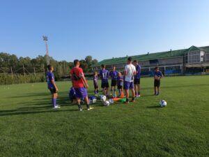 Лагерь ПРО Бахчисарай по футболу
