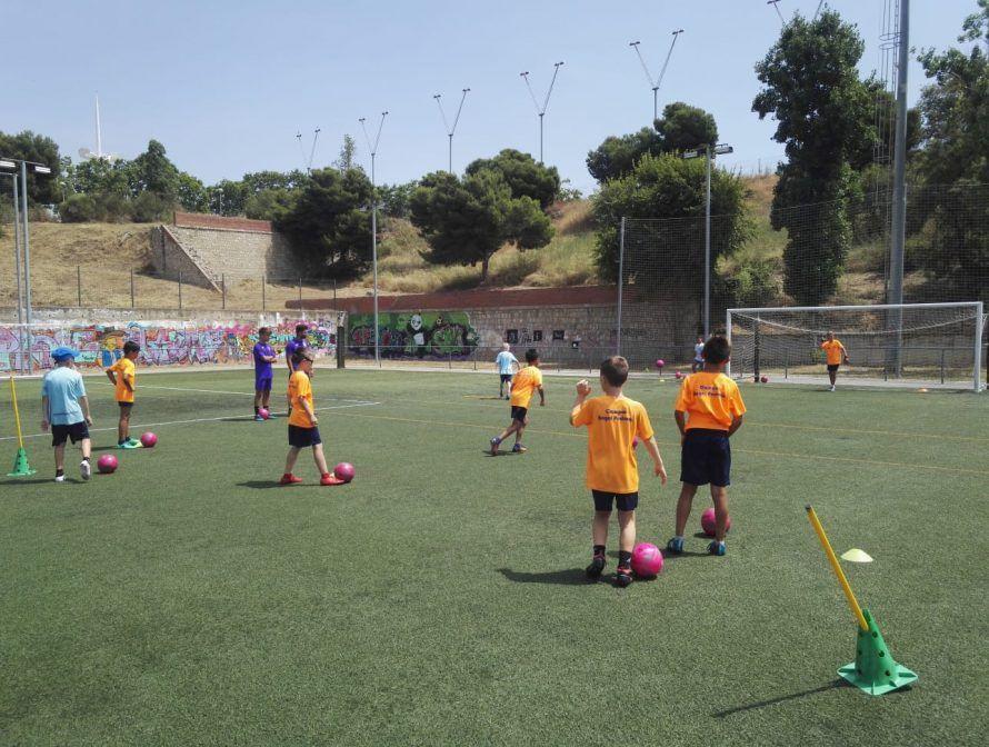 фото из лагеря Планета Спорта в испании 2018