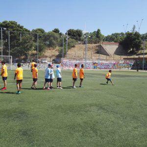 фото из лагеря Планета Спорта упражнения