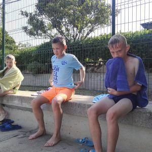 фото лагерь в барселоне после бассейна