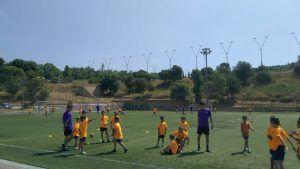 первый день лагеря в Барселоне лето 2018