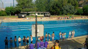 лагерь в Барселоне фото у бассейна