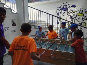 лагерь Планета Спорта в Барселоне развлечения