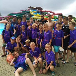 Лагерь футбольный фото Крым в аквапарке
