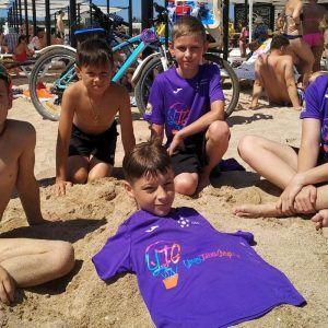 фото дети на берегу моря Евпатория