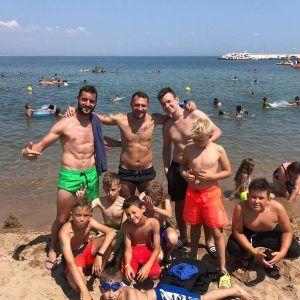 фото море болгария команда