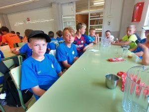 Футбольный лагерь в испании 2