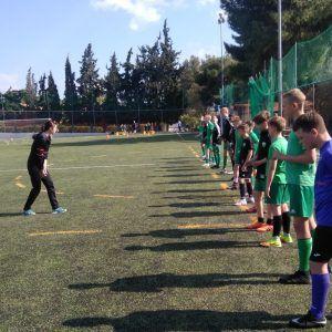 фото лагерь греция тренировка
