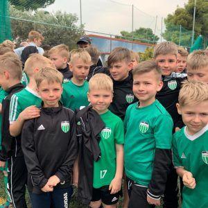 фото группы перед тренировкой в лагере