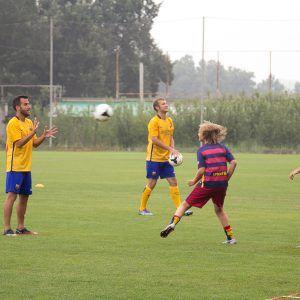 Евпатория. В футбольном лагере Планета Спорта с испанцами