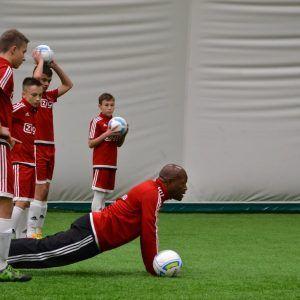 фото лагерь Аякс футбол в СПб