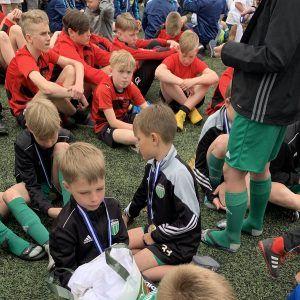 фото с турнира в лагере