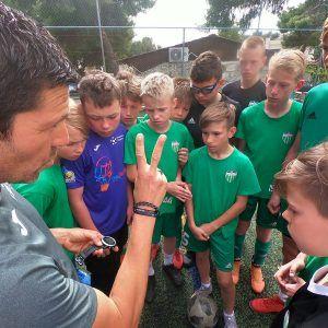 фото из лагеря тренер Карлос