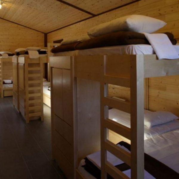 Лутраки. Лагерь в Греции. Места проживания