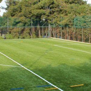 Футбольный лагерь в Лутраки поле для занятий