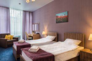 фото отель Екатеринбург номер для детей тренирующихся в Планета Спорта