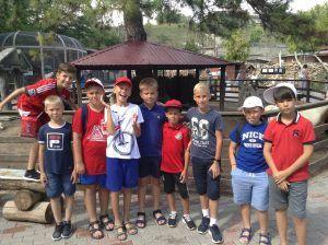 фото лагерь крым в парке миниатюр