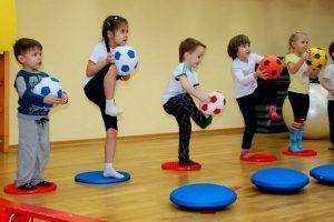 Планета Спорта. Упражнения на баланс