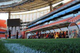 фото Екатеринбург арена на поле в лагере планета спорта