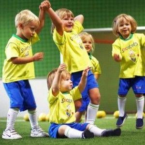 фото детей в зимнем лагере по футболу 2014